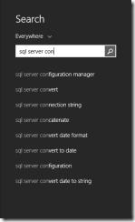 Start SQL Config
